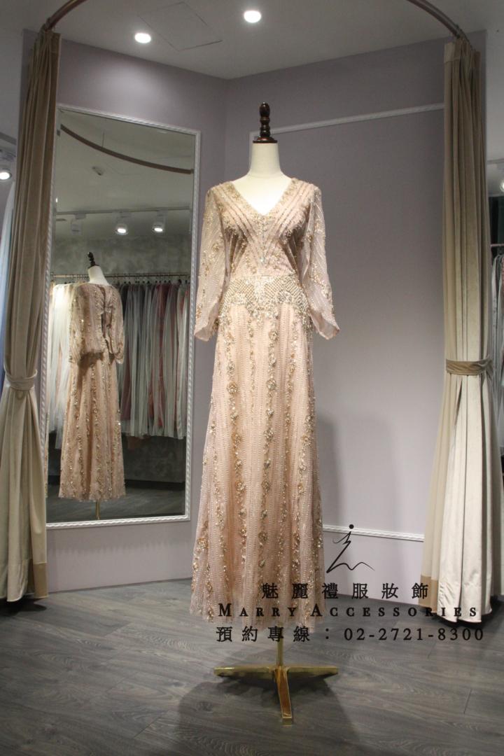 台灣張卉柔老師的 Marry Accessories 魅麗禮服妝飾