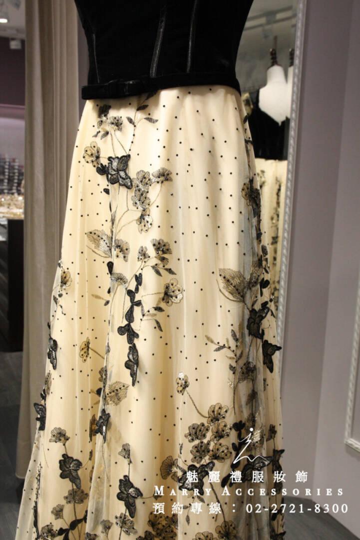 M28系列古典歐式刺繡禮服-媽媽禮服-晚宴禮服-新娘晚禮服