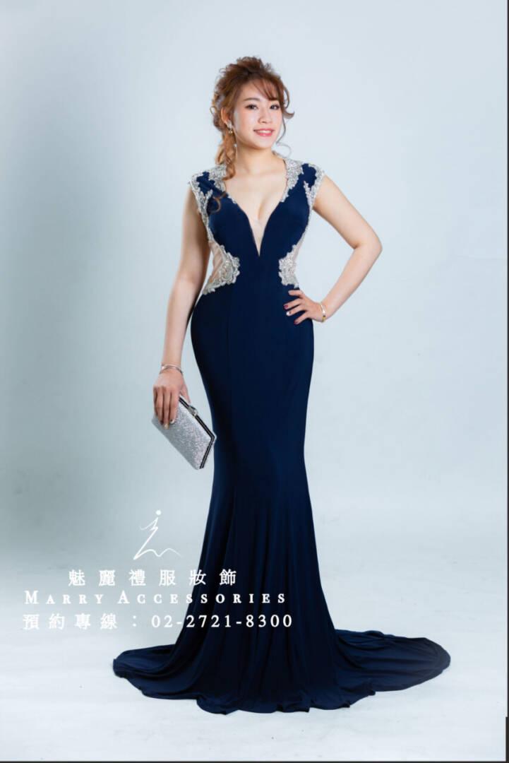 M9系列超顯瘦小性感假腰身設計魚尾時尚禮服-媽媽禮服-晚宴禮服-新娘晚禮服