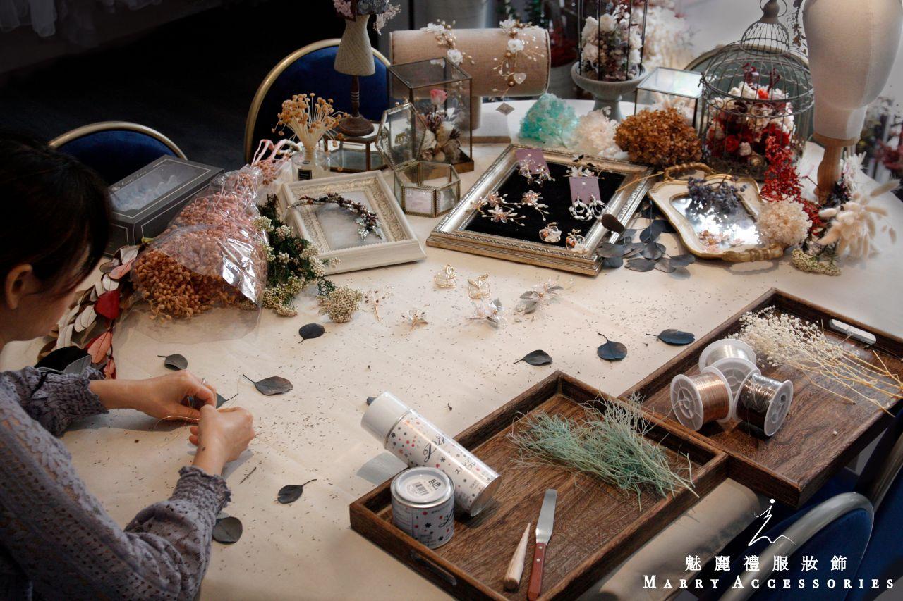 手做水晶花課程-範例影片/照片